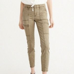 Abercrombie & Fitch High Waist  Military Pants